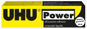 UHU POWER TRANSPARENT 42 g