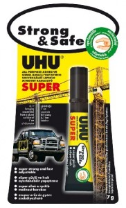 UHU ALLESKLEBER SUPER Strong + Safe 7 g
